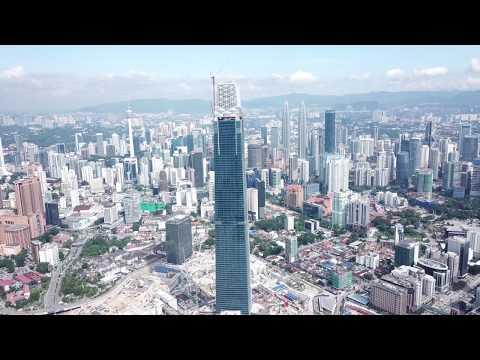 Tun Razak Exchange Video Log 26.10.2018, Kuala Lumpur, Malaysia