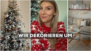 Mein Ehemann und ich dekorieren unsere Wohnung weihnachtlich! 🎅🏻   AnaJohnson