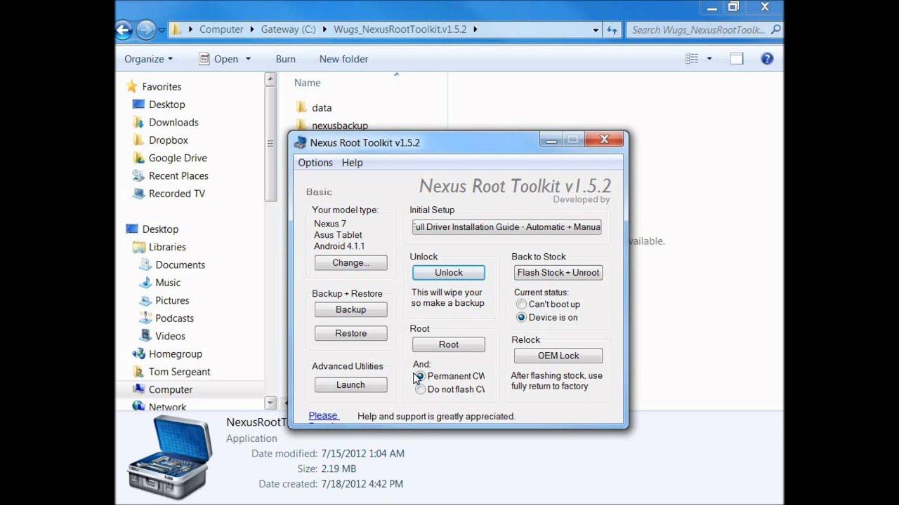 Asus Nexus 7 | RootJunky com