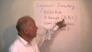 Working Capital Management (10 of 11) - Segmenting Inventory