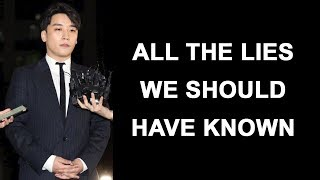 Seungri | All the lies and all the hints from Big Bang we should have known