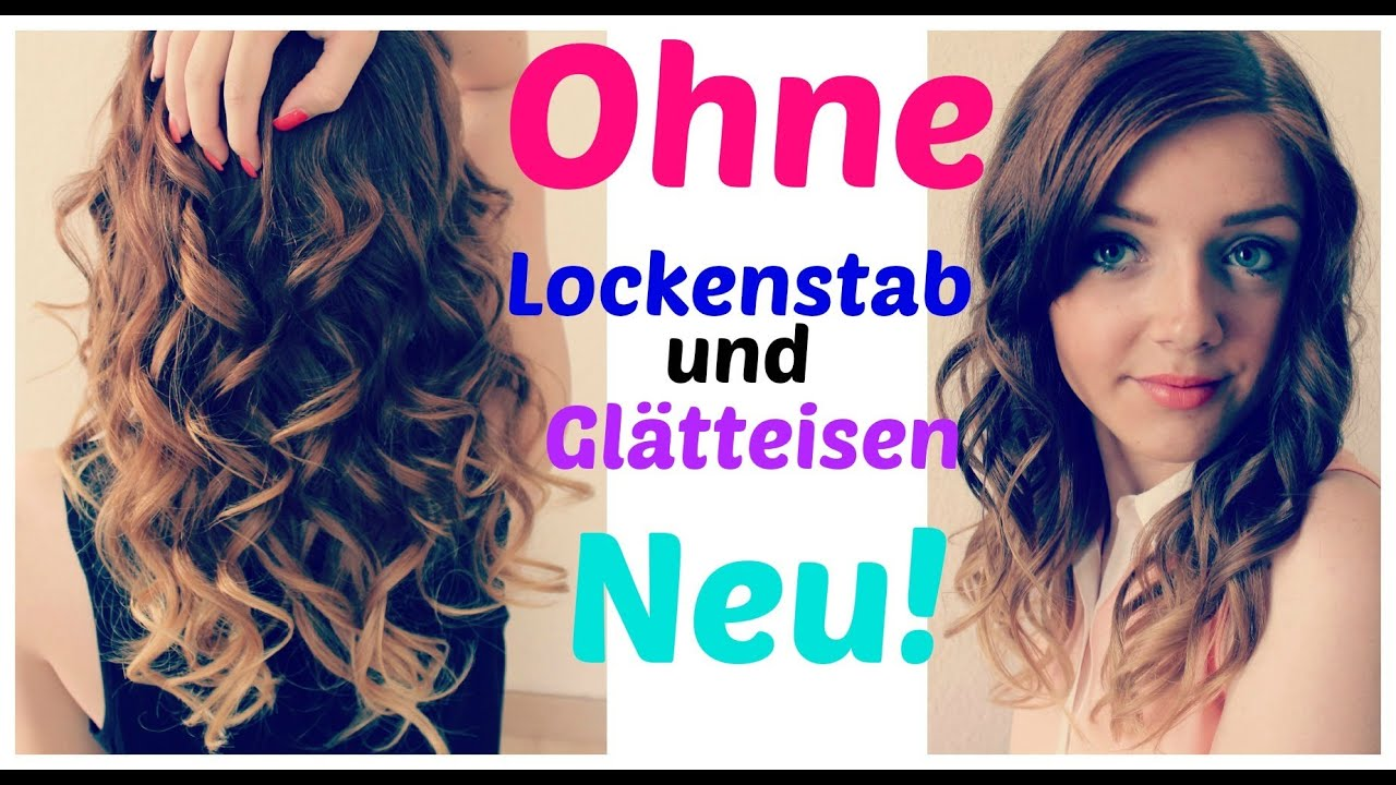 Locken frisuren lockenwickler
