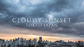 TimeLapse : CLOUDY SUNSET