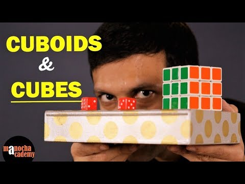 Surface Area And Volume Of Cube And Cuboid (Maths)