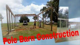 Pole Barn Installation