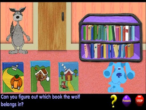 Blue S Clues 116 Fairy Tale Matching Windows Game 1998