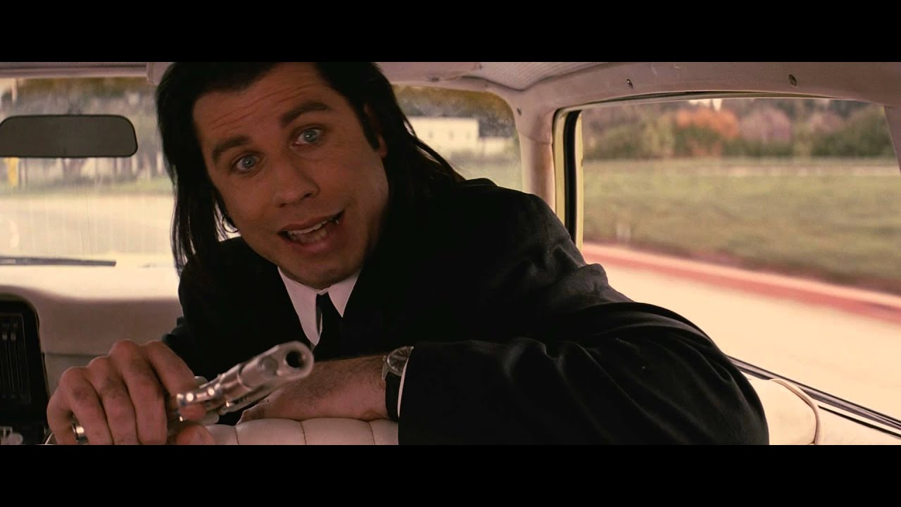 Image result for marvin getting shot pulp fiction