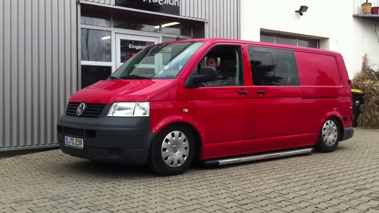 mr car design luftfahrwerk vw t5 intelli ride youtube. Black Bedroom Furniture Sets. Home Design Ideas