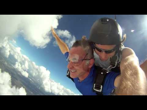 Skydiving with Tampa personal injury attorney Dennis Hernandez