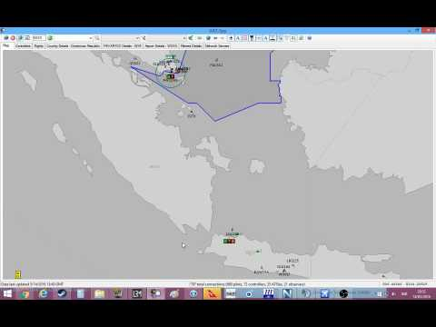[VATSIM] Singapore Real Ops 2016, JSA204 WIII WSSS, QVirtual