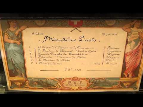 Semiramide Overture: Rossini playing on an antique music box