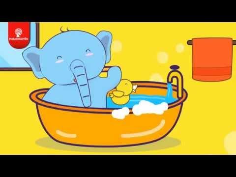 Bài hát thiếu nhi vui nhộn - Bé ơi tắm nào