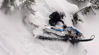 2016 Montana Backcountry Snowmobiling