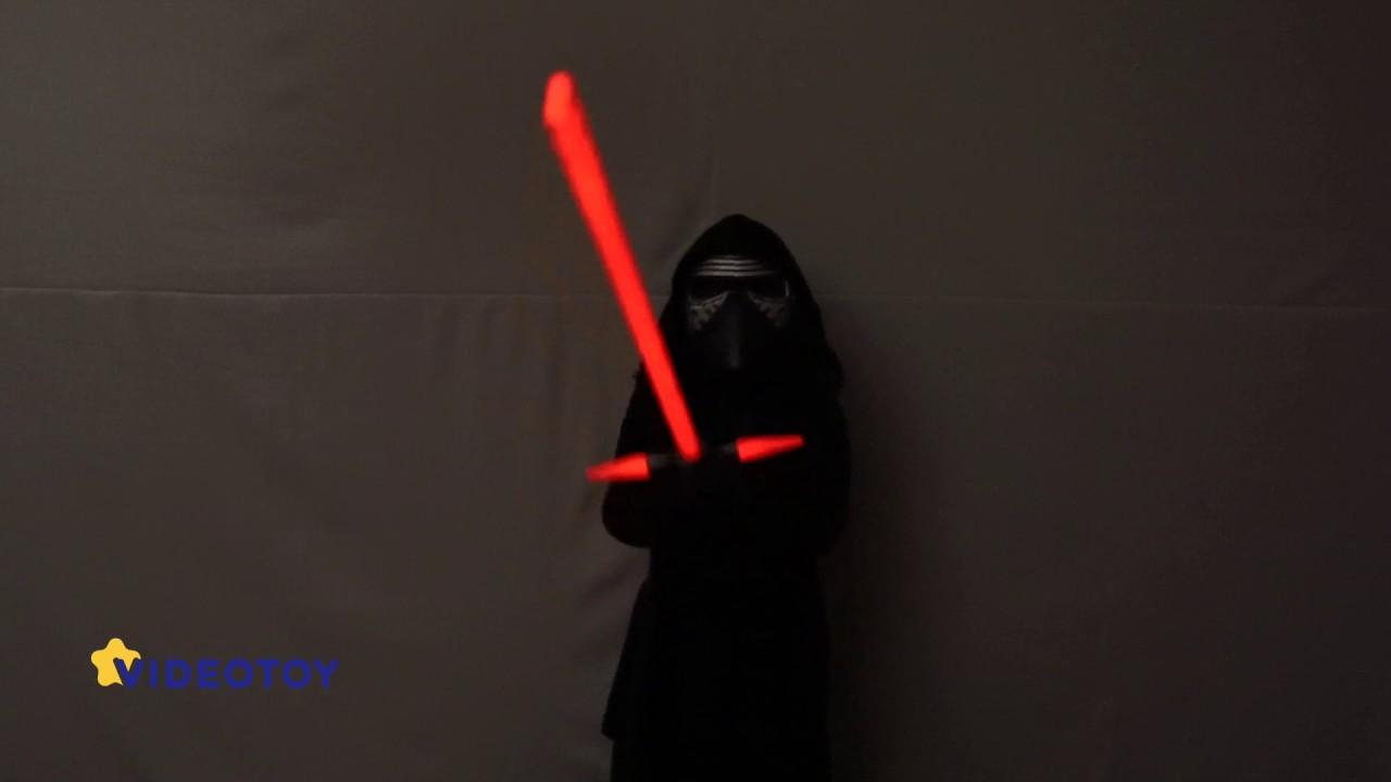Световой меч кайло рена hasbro bladebuilders star wars последние джедаи (c1577) купить в интернет магазине yakaboo. Ua. Выгодные цены.