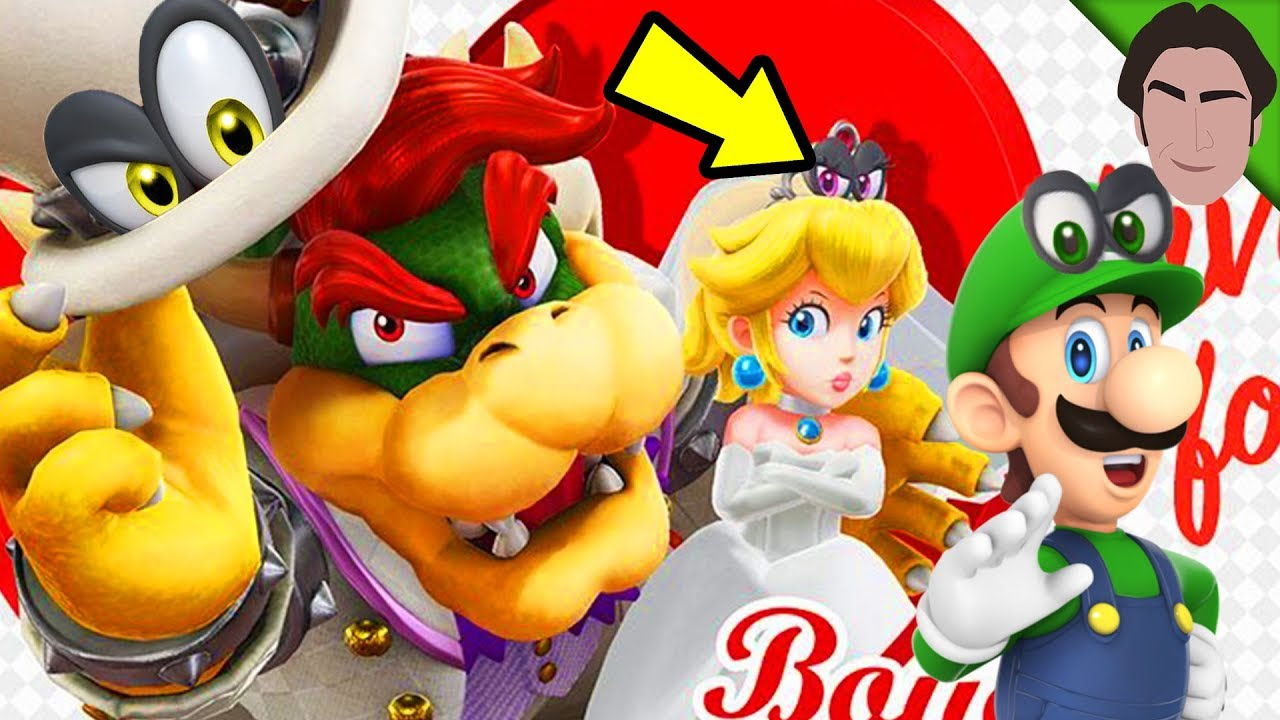 More Cappy Eyes Super Mario Odyssey Theory Youtube