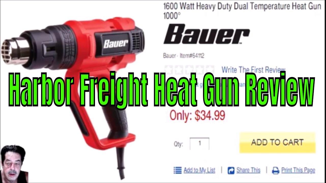 Harbor Freights Bauer Heat Gun V Tack Life Heat Gun Discussion