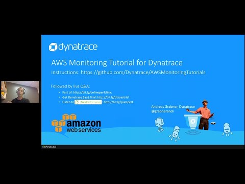 Online Perf Clinic – AWS Monitoring Tutorials for Dynatrace SaaS/Managed