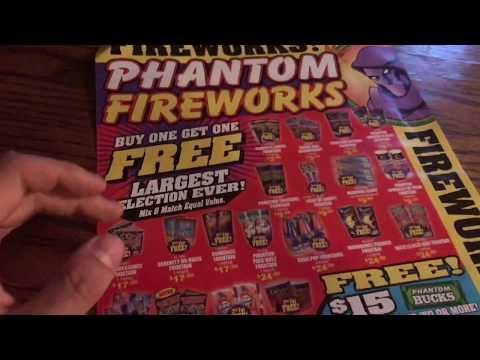photo relating to Phantom Fireworks Coupons Printable identified as Refreshing Phantom Fireworks coupon 2018! - YouTube