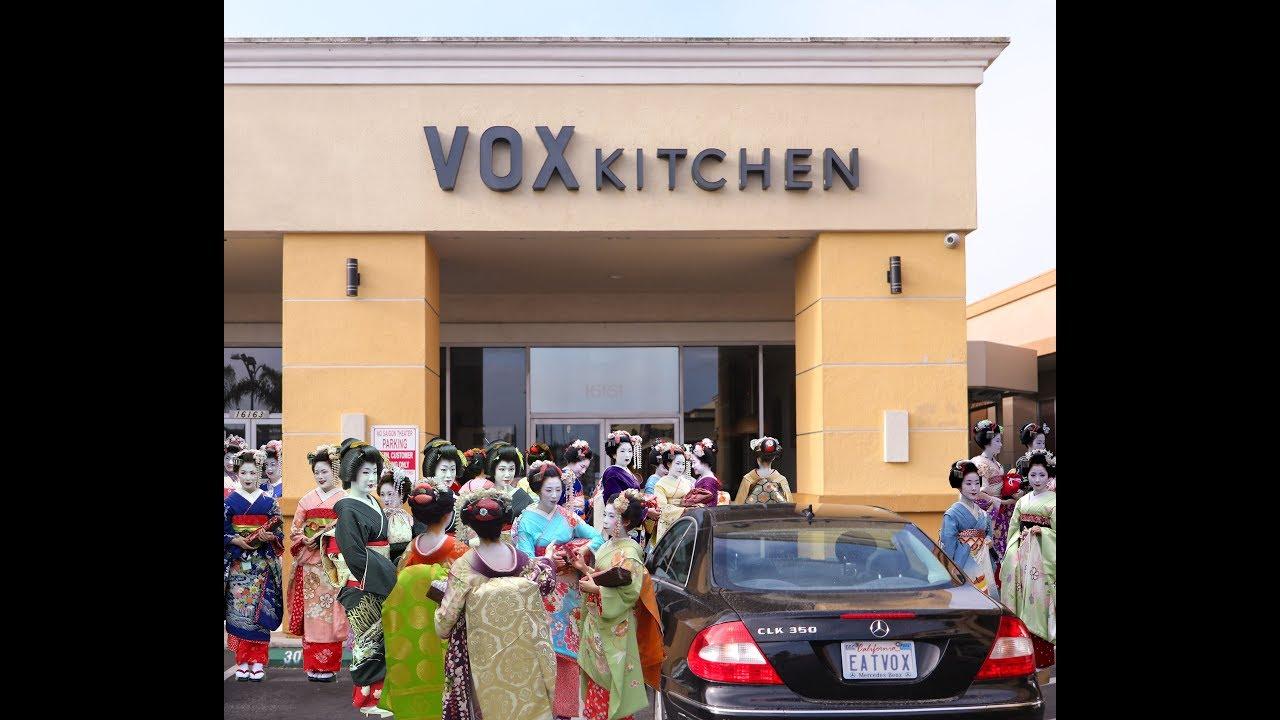 Dining With Geisha Vox Kitchen