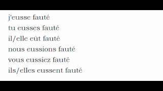 เรียนรู้ภาษาฝรั่งเศส = การผันคำกริยา = Fauter