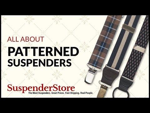 Paisley Suspenders