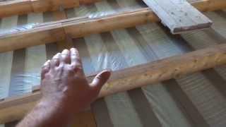 Мауэрлат для крыши  Шпильки армопояса(Канал стройка Самостоятельная организация процесса стройки. Строительство частного дома. Строительства..., 2015-10-31T05:55:06.000Z)