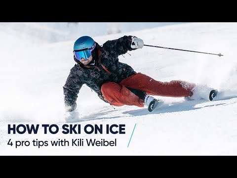 HOW TO SKI ON ICE | 4 pro tips with Kili Weibel