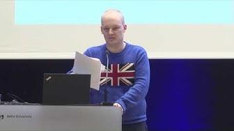 Kokemuspuheenvuoro tuetun työllistymisen palvelusta, Rasmus Ellenberg, Autismin talvipäivät 2020