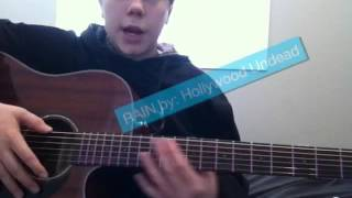 How to play RAIN by hollywood undead. Very easy