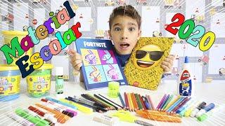 Comprando meu Material Escolar 2020