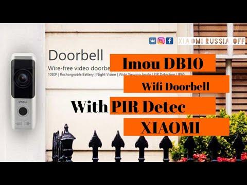 Xiaomi Imou DB10 Wifi Doorbell With PIR Detec уже в продаже