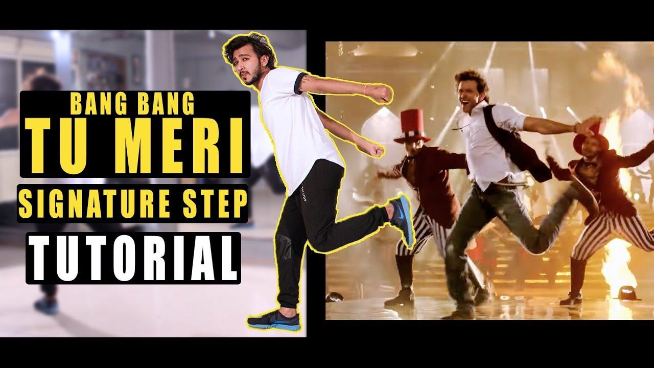Tu Meri | Bang Bang | Signature Step Tutorial | Vicky Patel Dance # Dance  like Hrithik Roshan