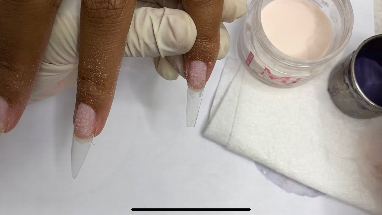 Acrylic for beginners   Nails Art   Nail Tutorial   #807