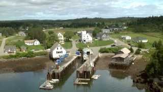 Over the Coast of Maine HD  Dobbs Productions