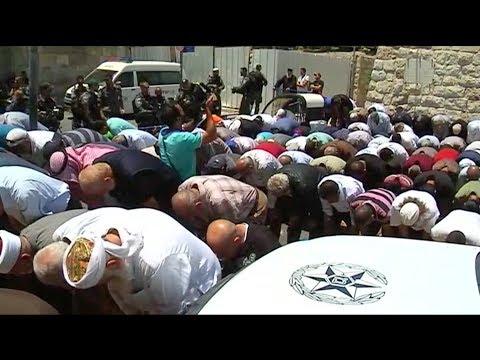 Israel rechazo retirar los controles sobre el Monte del Templo