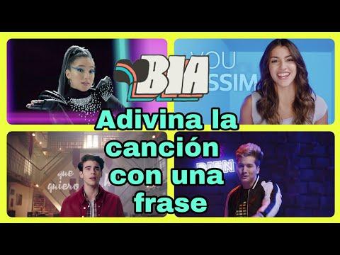 """Adivina La Canción Con Una Frase - Nivel BIA """"Difícil"""""""