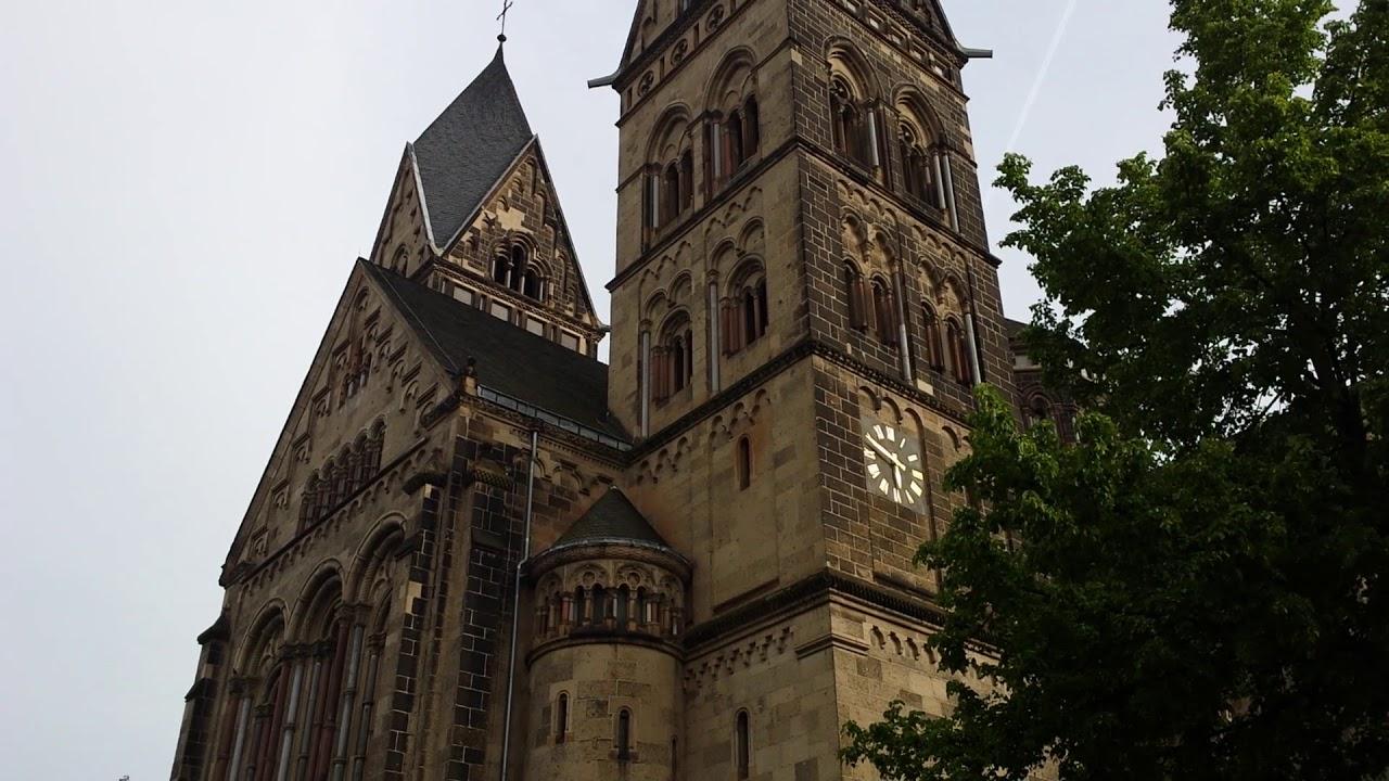 Koblenz (D), kath. Kirche Herz Jesu - Vollgeläute - - YouTube