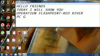 operation flashpoint red river pc game key