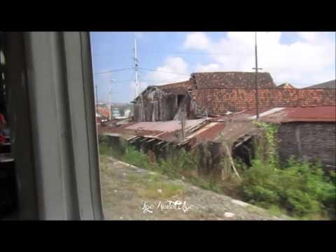 Asikk !!! Naik Kereta Api Eksekutif New Argo Bromo Anggrek (Surabaya-Semarang)
