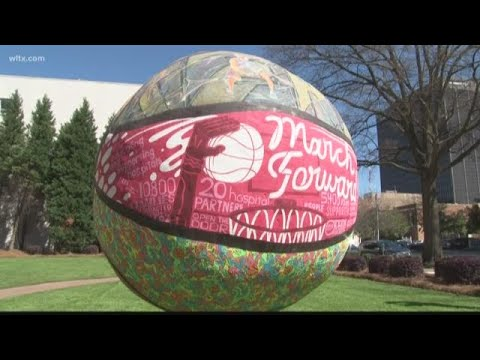 Artist create 'Beyond the Court' artwork for Columbia, SC