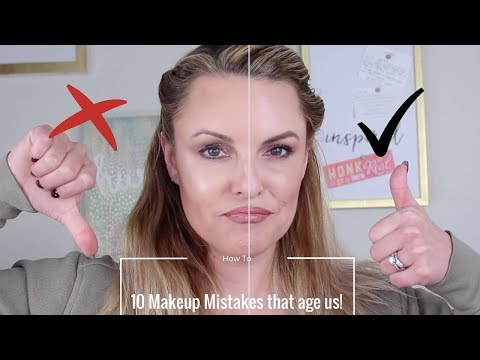 Makeup Mistakes that Age Us || Full Face Chit Chat Demo - Elle Leary Artistry