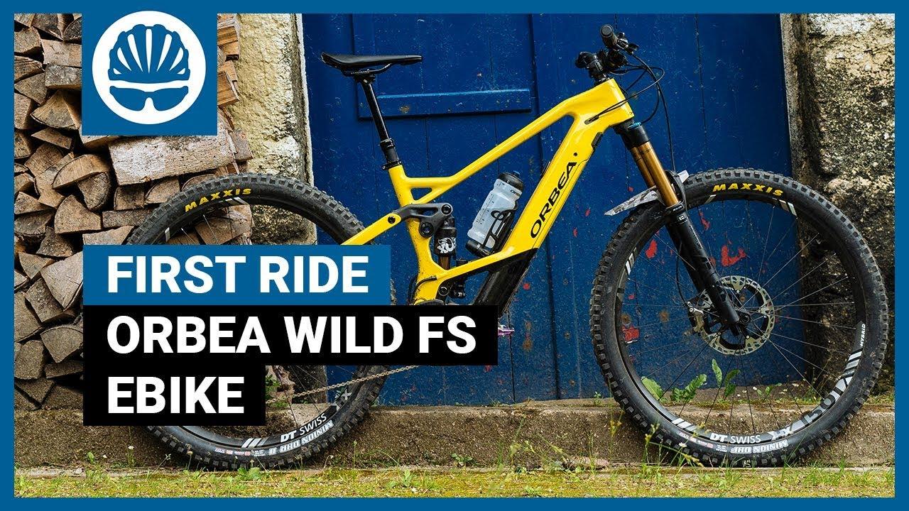 Best Electric Mountain Bike 2020.New Orbea Wild Fs 2020 E Mtb Best Bits Of Trail Enduro Bikes