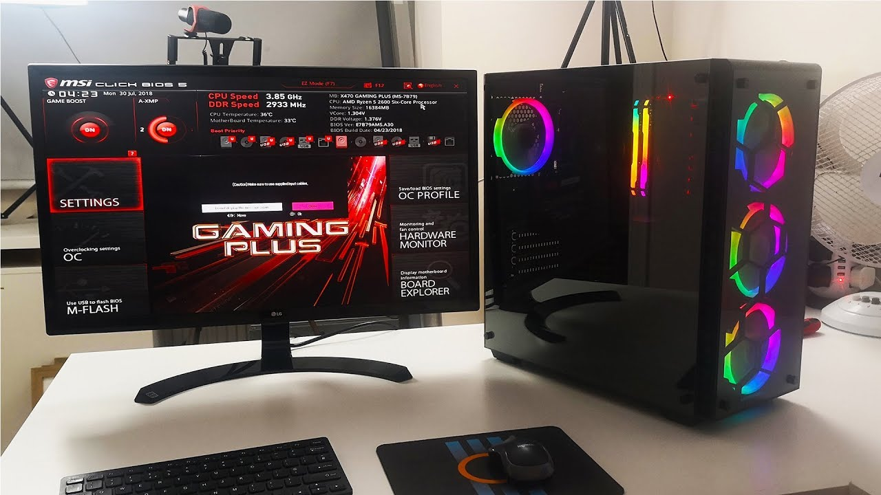 RGB 4K Gaming Build