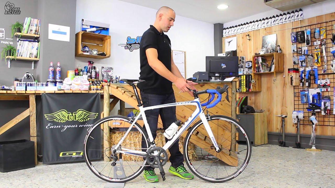 Bicicleta de carretera: configuración básica - YouTube