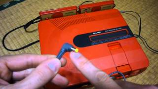 Sharp Twin Famicom Overview and Alternative Power Supplies