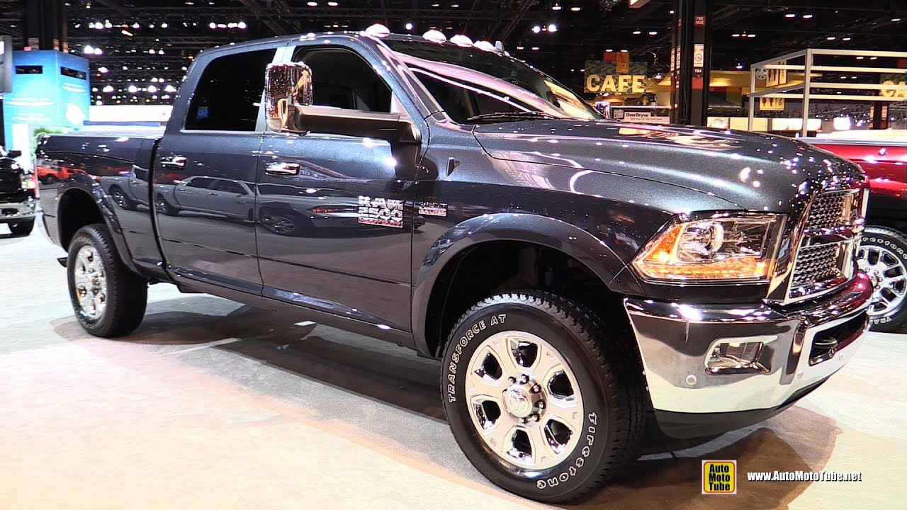 2016 RAM 2500 Laramie - Exterior and Interior Walkaround - 2016 Chicago Auto Show - YouTube