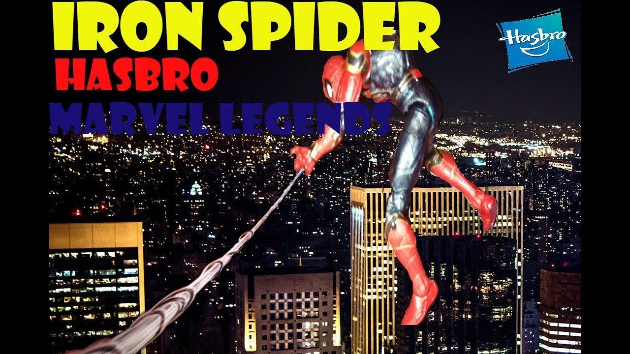 Hasbro Marvel Legends Iron Spider review en español  y una noticia especial