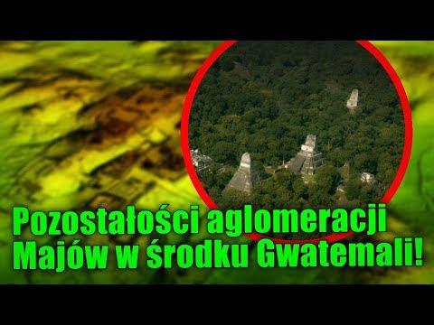 Tysiące budowli Majów zostało odnalezionych w gwatemalskiej dżungli!