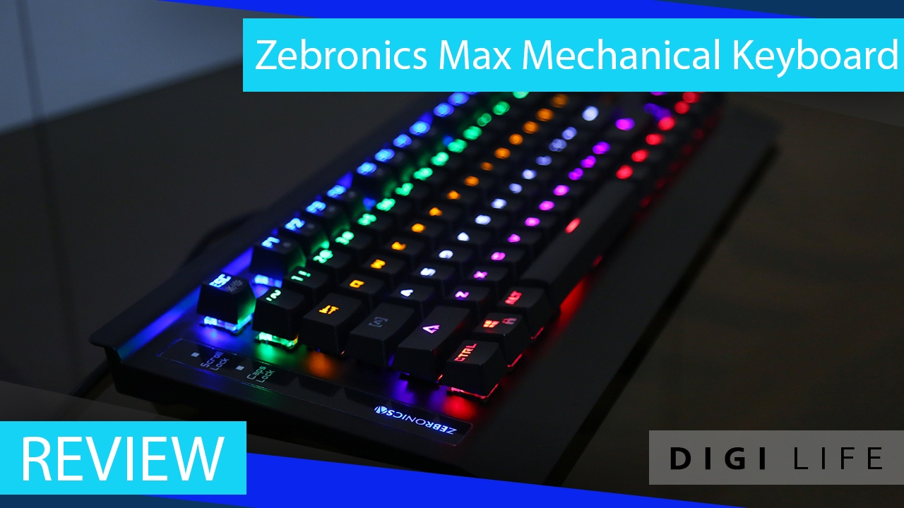 58779501c0c Zebronics Max Mechanical Keyboard Review   Digi Life - YouTube