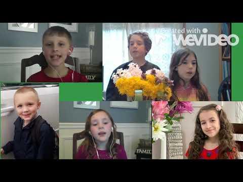 Hevenu Shalom Aleichem | Virtual Elementary Singers | Cortland Christian Academy